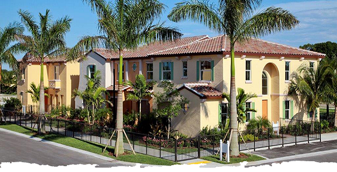 Trevi New Construction Townhomes Palm Beach Gardens Fl