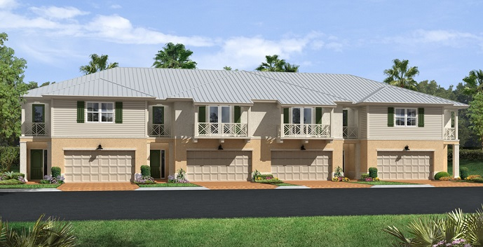 Hampton Cay New Construction Townhomes Palm Beach Gardens