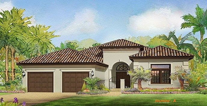Gardenia Isles New Construction Homes Palm Beach Gardens
