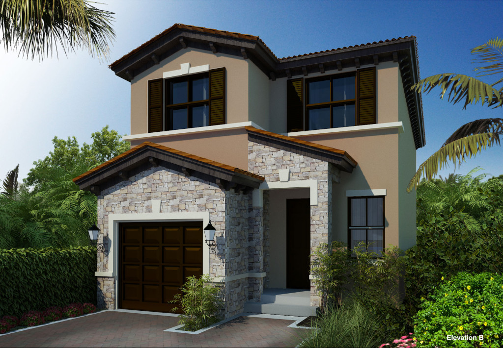 Central parc new construction homes tamarac florida for Building a house in florida