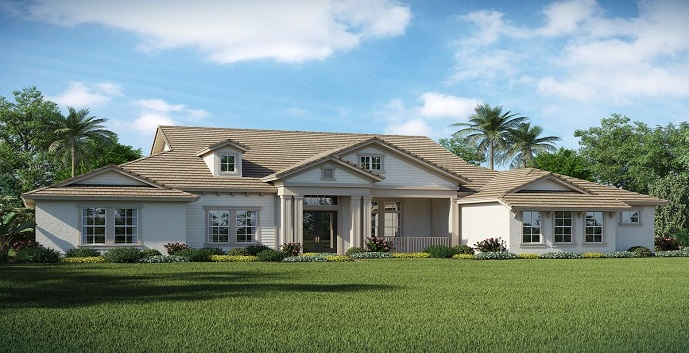 Sterling ranch homes new construction davie for New construction ranch homes